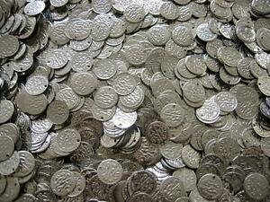 100-Silver-Coins-Belly-Dance-Hip-Scarf-Belt-Costume