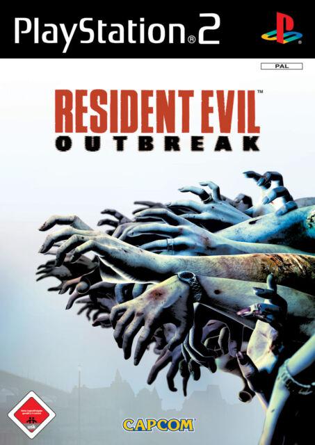 Resident Evil: Outbreak (Sony PlayStation 2, 2004, DVD-Box)