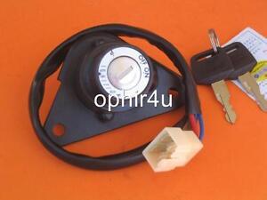 key ignition switch yamaha xv250 250 virago motorcycle ebay. Black Bedroom Furniture Sets. Home Design Ideas