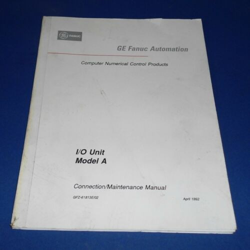 Business & Industrial FANUC AUTOMATION I/O MODEL A CONNECTION ...