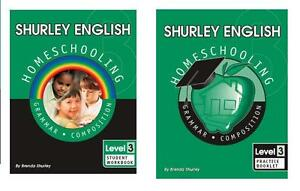 Shurley-English-Level-3-Homeschool-Student-Workbook-and-Practice-Booklet-NEW