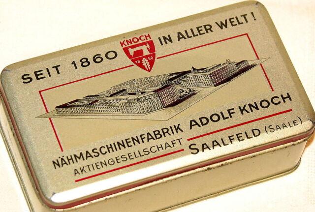 Rare German Adolf Knoch Sewing Machine Tin 1930s