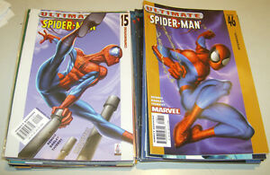 Ultimate-Spider-Man-lot-of-40-comics-15-67-Marvel-2000-2009-Avengers
