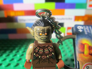 LEGO-850514-MORDOR-ORC-Minifigure-Keychain-LOTR-Lord-of-the-Rings-w-Tags