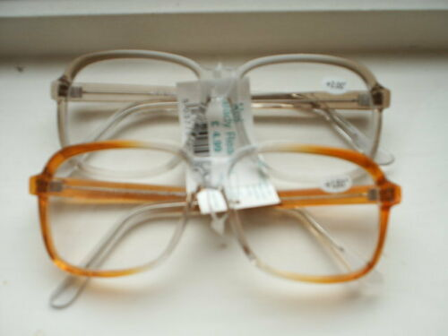 READING GLASSES PM834  BROWN OR GREY FADE FROM 1.25 TO2.25