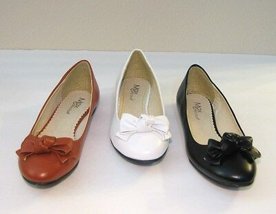 NEW Women Faux Leather Ballet Flat Shoes Size