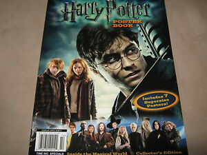 new 2011 harry potter movie poster book collectors edition