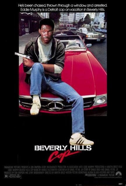 Beverly Hills Cop Movie POSTER 27 x 40 Eddie Murphy, Judge Reinhold