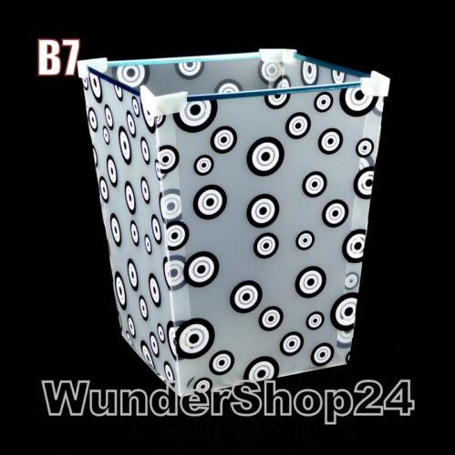 Schones Abnehmbare Papierkorb Mülleimer aus PVC 9 Liter Abfalleimer Abfallkorb