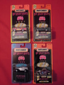 1997-2000-1st-Four-Years-Hot-August-Nights-Limited-Ed-Matchbox-Diecast-Cars