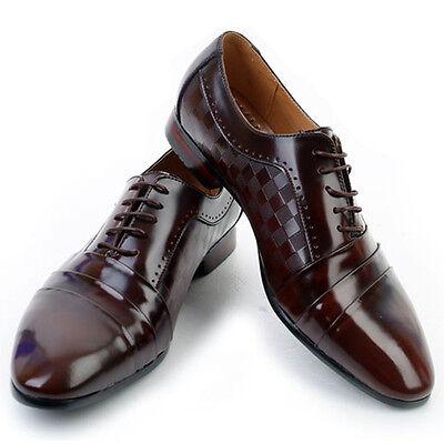 New Jurdan Mens Brown Leather Dress Oxfords Shoes Novamall