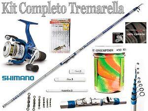 Kit-pesca-tremarella-mulinello-shimano-canna-2-6-gr-ami-legati-pasta-trota-PB019