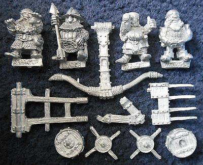 1987 Dwarf Bolt Thrower War Machine Siege Engine Ballista 074362 Citadel Army GW