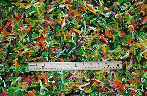 LOT-OF-SOFT-PLASTIC-LURES-300-2-CURL-TAILS-TUBES-TWIN-TAILS-ETC-MANY-COLORS
