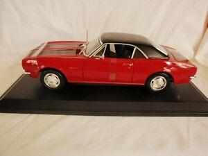 1967-Chevrolet-Camaro-Z-28-Metal-Die-Cast-1-18-Scale-Model-Car
