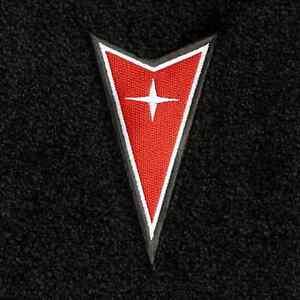 Lloyd Mats Pontiac Gto Dart Emblem Velourtex Front Floor