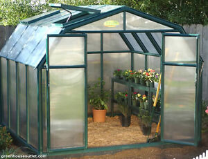 RION-Hobby-Gardener-Extension-Kit-Twin-Wall-Polycarbonate-4mm-Panels-Green