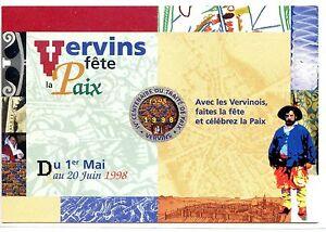 CP-02-AISNE-VERVINS-FETE-DE-LA-PAIX-1998