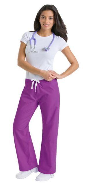 Urbane 9502 Scrubs Women's Essentials Boot Cut Drawstring Scrub Pants XXS-3XL