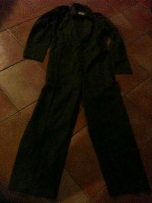 combinaison hollandaise vert foncé coton neuf taille 50 paysan militaire airsoft