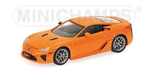 MINICHAMPS-400166020-Lexus-LFA-2010-orange-1-43