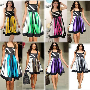 7-Colors-Hot-Sell-Women-Elegant-Cocktail-Stretchy-Party-Satin-Dress-M-L-XL-XXL