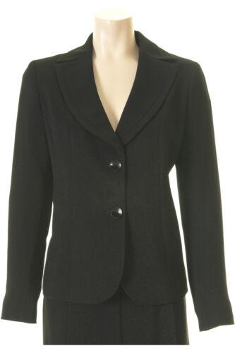 Busy Sparkle Black Ladies Suit Jacket