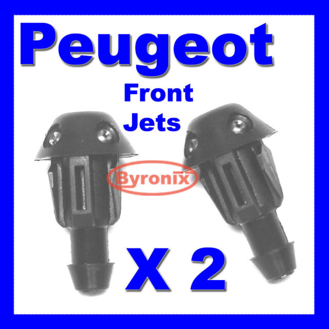 PEUGEOT 106 205 306 FRONT WINDSCREEN WASHER JET JETS X 2  - 643871