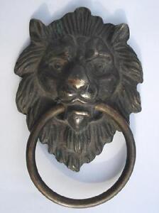 Chinese-Bronze-Fierce-Lion-Head-Door-Knocker-4-4-034-High