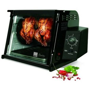 Ronco-4000-Showtime-Standard-Rotisserie-and-Barbeque-Oven-Black-ST4000BLGEN