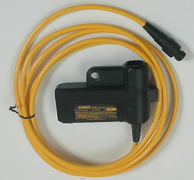 DEWALT DS300 JOBSITE SECURITY CONTAINER CABLE & LOCK JOB SITE SITELOCK 12' NIB
