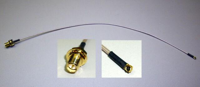 WLAN-Adapterkabel RP-SMA-Buchse / UFL-Stecker 30cm (X1/1)