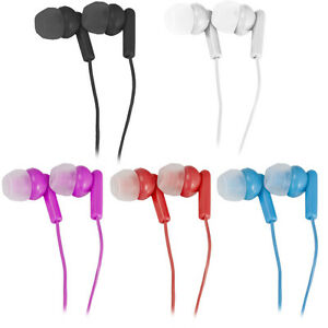 5-Pack-Vivitar-Earbud-Noise-Isolating-Headphones-5-Color-Set