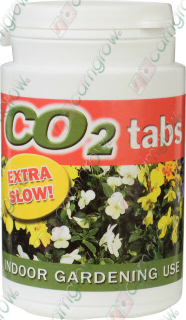 CO2 TABLETS - SLOW RELEASE CO2 FOR HYDROPONICS / GROW TENT / GROW LIGHT USAGE