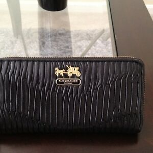 Coach-Madison-Gathered-Leather-Wallet