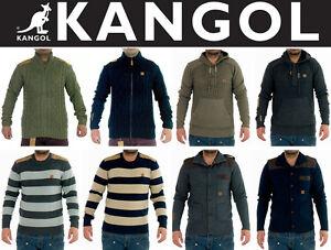 Mens-Boys-Kangol-Designer-Knitwear-Top-Hoodie-Cardigan-Jumper-Sweatshirt-Sweater
