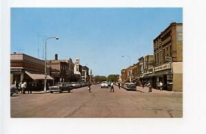 Theif-River-Fals-MN-Street-View-Old-Cars-Vintage-Store-Fronts-Woolworth-Postcard