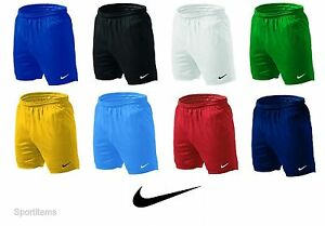 Men-039-s-Nike-Park-Knit-Shorts-Soccer-Football-Athletic-Running-Gym-Authentic-New