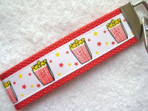 POPCORN MOVIE LOVERS Key Fobs really cute keychains