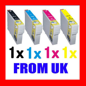 4-INK-CARTRIDGE-FOR-EPSON-S22-SX125-SX130-SX235W-SX420W-SX425W-SX435W-SX445W