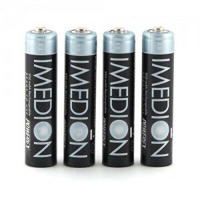 4-Pack PowerEx IMEDION 950 AAA mAh NiMH Precharged Rechargeable Battery Maha