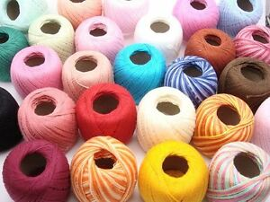 YOU-PICK-MANY-COLORS-10-CROCHET-COTTON-THREADS-YARN-KNITTING-CLEA-ASSORT-2