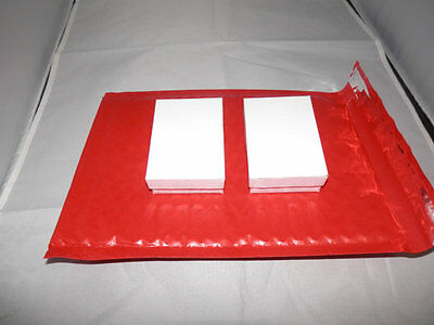 Strawberry Red Poly Bubble Mailers,6x9 Bubble Mailing Padded Shipping Envelopes