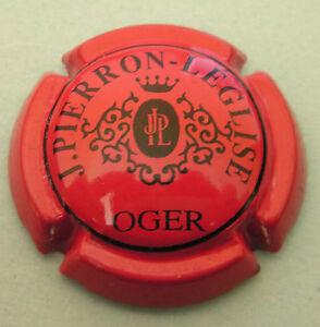 Capsule-de-Champagne-Pierron-Leglise-N-2-Rouge-et-noir-cote-10-00
