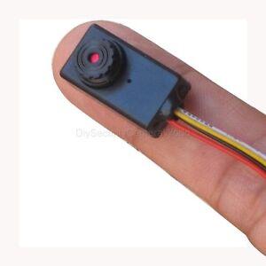 mini shell 520tvl cctv color audio video hidden camera hd