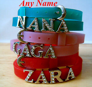 Personalised-Name-Children-kids-New-Bracelet-wristbands-gift-Party-favours
