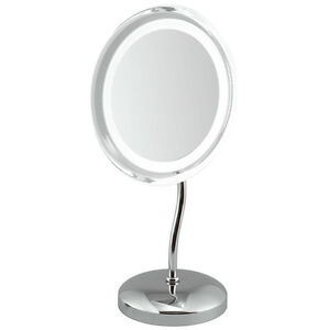 ClearView-9-034-LED-Light-Illuminated-5x-Magnifying-Mirror-MLMIR102-Make-Up-Vanity