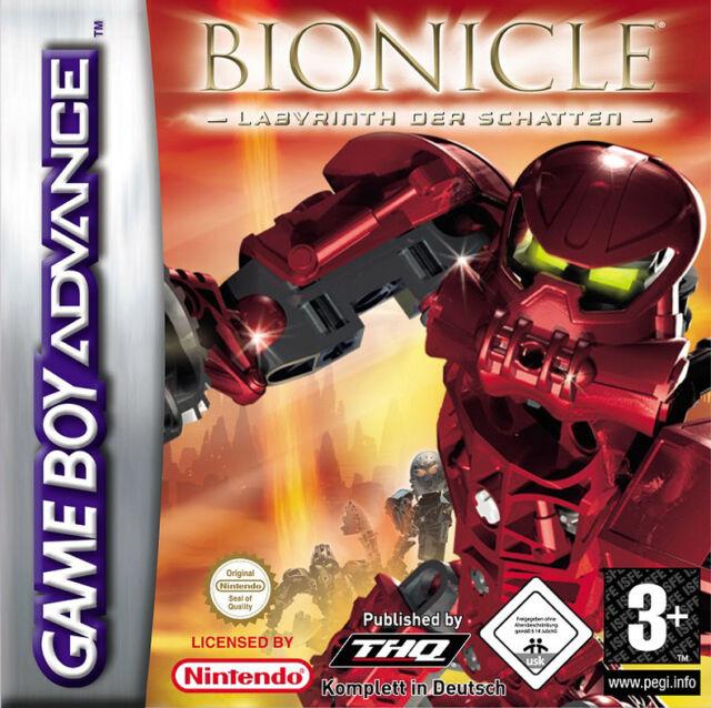 Lego   Bionicle  Labyrinth der Schatten [Gut]  Spiele Game Boy Nintendo