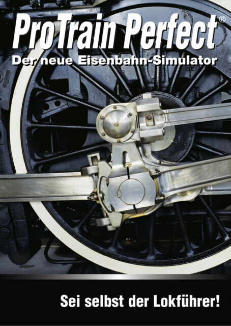 ProTrain Perfect - Der neue Eisenbahnsimulator (PC, 2005, DVD-Box)