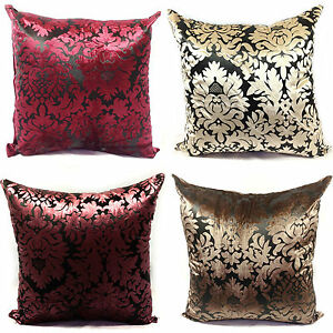 LARGE-VELVET-DAMASK-SCATTER-CUSHIONS-OR-COVERS-IN-4-LOVELY-COLOURS
